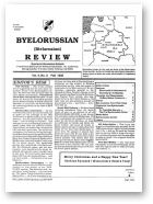 Belarusian Review, Volume 2, No. 3