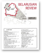 Belarusian Review, Volume 19, No. 2