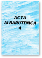 Acta Albaruthenica, tom 4