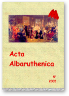 Acta Albaruthenica, tom 5