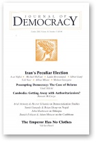Journal of Democracy, Volume 16, Number 4
