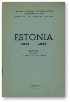 Torma August, Raud Villibald, Estonia: 1918-1952